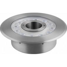 LL-876 Светодиодный прожектор подводный ЛЮКС, D215xH90, IP68 12W 24V RGB 32041