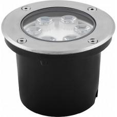 SP4112 Светильник тротуарный,6LED холодный белый,6W,120*H90mm,вн.диаметр:82mm,IP67 32016