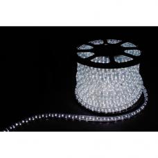 Дюралайт LED 4WAY 50м квадр. 11х22мм 230V 108LED/м 4,5W/м, (2м/отрез), 2 аксесс., белый 7000K 26107