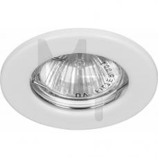Светильник DL10 MR-16 не поворот.бел 15109