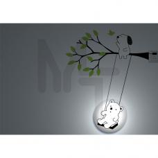 NL40 Светильник-ночник 230V ESB 7W E14 с сетевым шнуром 23270