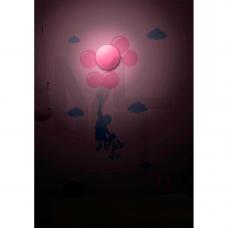 NL53 Светильник-ночник 1W hign power LED 3*АА батареи ( в комплект не входят)  с выключателем 23277