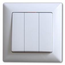 01401100100160 EQONA выкл. 3 клав 12/120 01 40 11 00 100 160
