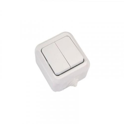 NEMLI 0711103 Влагозащитный выключатель 2кл бел 01 07 11 00 100 103