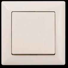 2812101 VISAGE Выкл. 1 клав. крем (12шт). 01 28 12 00 100 101