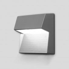 Sidney Светильник навесной прямоуг 15х15х7,2см 3*2 (Grey) W1866 S