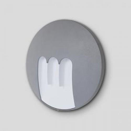 Sidney Светильник настенный круглый d23,5см 3*3 (S) W1871