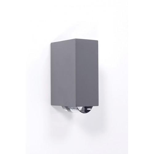 Tube Светильник настенный 2-хлучевой 9,7х15,5см  2*3 (S) W1862-B2
