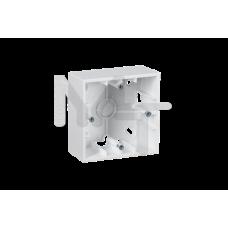 Монтажная коробка для накладного монтажа, 1 пост, белый 1590751-030