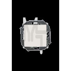Выключатель одноклавишный, 16А 250В, винтовой зажим, слоновая кость 1591101-031