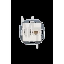 Розетка компьютерная RJ45 кат.5е, Systimax, слоновая кость 1591598-031
