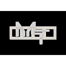 Рамка универсальная, 4 поста, слоновая кость 1500640-031