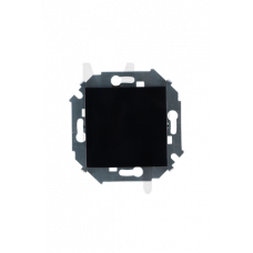 Выключатель проходной (переключатель), 16А, 250В, винтовой зажим, черный 1591201-032