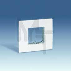 Рамка базовая, 1 пост, 85х91мм, (+суппорт), S27 Play, белый 2700610-030