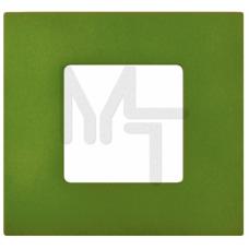Накладка декоративная на рамку базовую, 1 пост, S27 Play, Arctic, зелёный 2700617-084