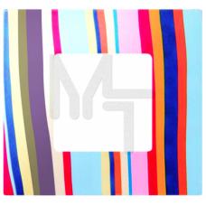Декоративная накладка на рамку-базу, 1 пост, S27Pl, многоцветный поток (10130040/250914/0006826/2, И 2700617-801