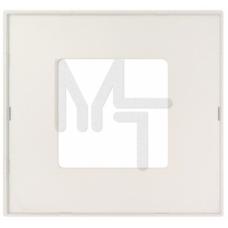Накладка декоративная на рамку базовую, 1 пост, S27 Play, прозрачный 2700617-108