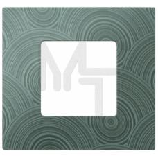 Накладка декоративная на рамку базовую, 1 пост, S27 Play, Extrem, текстурный серый 2700617-805