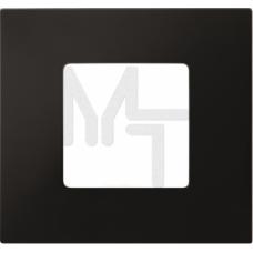 Накладка декоративная на рамку базовую, 2 поста, S27 Play, Color, чёрный 2700627-071