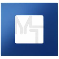 Декоративная накладка на рамку-базу, 4 поста, S27Pl, синий 2700647-064