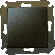 Выключатель одноклавишный, 10А, 250В, S34, графит 34101-038