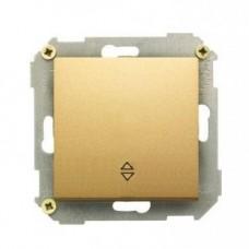 Выключатель проходной (переключатель), 10А, 250В, бронза 34201-036