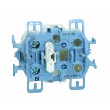 Выключатель одноклавишный, 10А 250В, S73, S73 Loft 73101-39