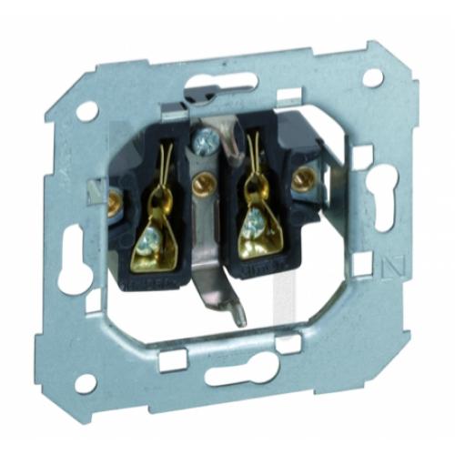 Розетка двухполюсная с заземлением Schuko, 16А 250В, винтовой зажим, S82, S82N, S88, S82 Detail 75432-39