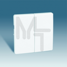 Клавиши (2 шт) для двухклавишного выключателя (проходной + кнопочный), S82, S82N, S82 Detail, слонов 82026-31