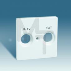 Накладка для спутниковых радио-телевизионных розеток, S82, S82N, 82 Detail, слоновая кость 82097-31