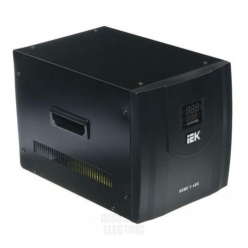 Стабилизатор напряжения серии HOME 5 кВА (СНР1-0-5) IEK IVS20-1-05000
