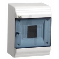Бокс ЩРН-П-6 модулей навесн.пластик IP41 PRIME MKP82-N-06-41-20