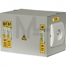 Ящик с понижающим трансформатором ЯТП-0,25 230/36-3 36 УХЛ4 IP30 IEK MTT13-036-0250
