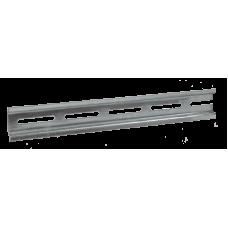 DIN-рейка  (25см) оцинкованная YDN10-0025