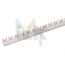 Шина соединительная типа FORK (вилка) 1Р 63А (дл.1 м) ИЭК YNS11-1-063