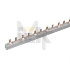 Шина соединительная типа PIN (штырь) 2Р 63А (дл.1м) ИЭК YNS21-2-063