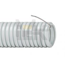 Труба гофр.ПВХ d25 с зондом (50м) ИЕК CTG20-25-K41-050I