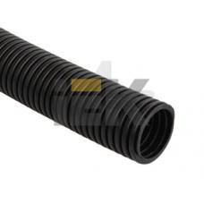 Труба гофр.ПНД d20 с зондом (100м) черный ИЕК CTG20-20-K02-100-1