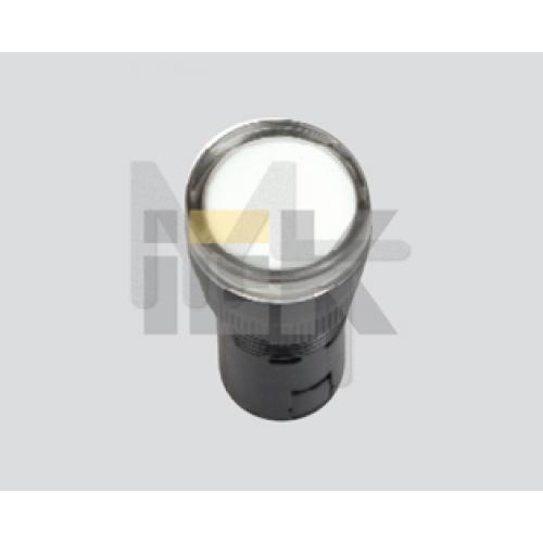 Лампа AD16DS(LED)матрица d16мм белый 24В AC/DC  ИЭК BLS10-ADDS-024-K01-16