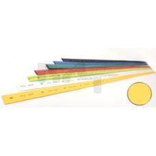 Термоусадочная трубка ТТУ 10/5 желтая 1 м IEK UDRS-D10-1-K05