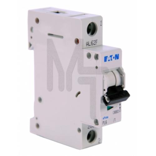 PL6-D32/1 Автоматический выключатель 32А, кривая отключения D, 1 полюс, откл. способность 6 кА 286548