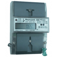 Счетчик Меркурий 201.7 (1ф, мех, на DIN) Ц030586