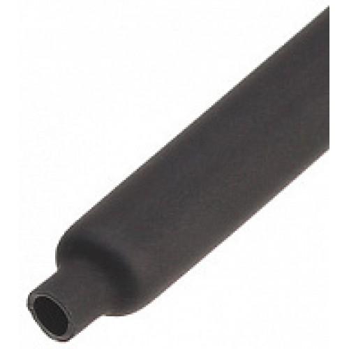 Термоусадочная трубка с коэффициентом усадки 2:1 ТУТнг-LS-4/2, черн (КВТ) 60086
