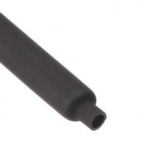 Термоусадочная трубка с коэффициентом усадки 2:1 ТУТнг-LS-12/6, черн (КВТ) 60091