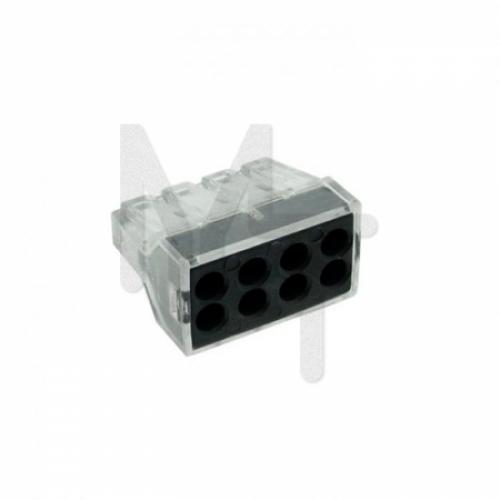Строительно-монтажная клемма СМК 773-108 8 отверстий 1,0-2,5мм2 (50шт.) EKF PROxima plc-smk-108