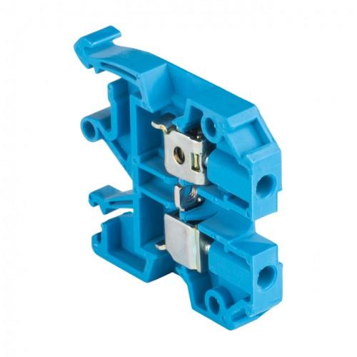 Колодка клеммная  JXB-4/35 синяя EKF PROxima plc-jxb-4/35b