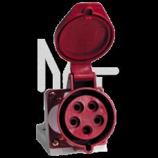 Розетка стационарная наружная 115 3Р+РЕ+N 16А 380В IP44 EKF PROxima PS-115-16-380