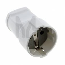 Гнездо штепсельное с/з бел. 16А 250В EKF PROxima ASG16-10