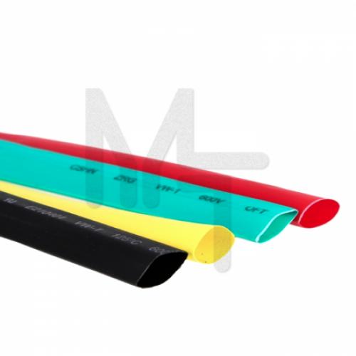 Термоусаживаемая трубка ТУТ 40/20 набор:7 цветов по 3шт. 100мм. EKF PROxima tut-n-40