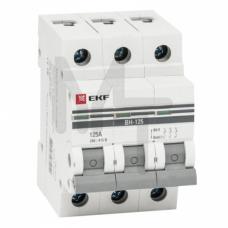 Выключатель нагрузки 3P 40А ВН-63 EKF PROxima SL63-3-40-pro